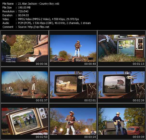 Alan Jackson - Country Boy