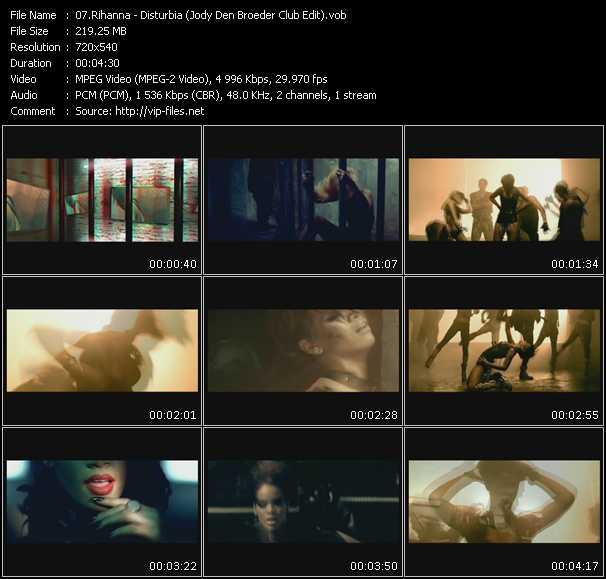 Rihanna - Disturbia (Jody Den Broeder Club Edit)