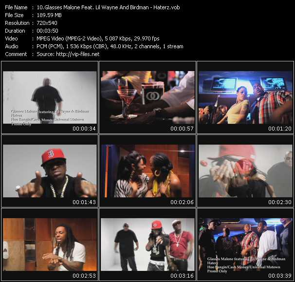 Glasses Malone Feat. Lil' Wayne And Birdman - Haterz