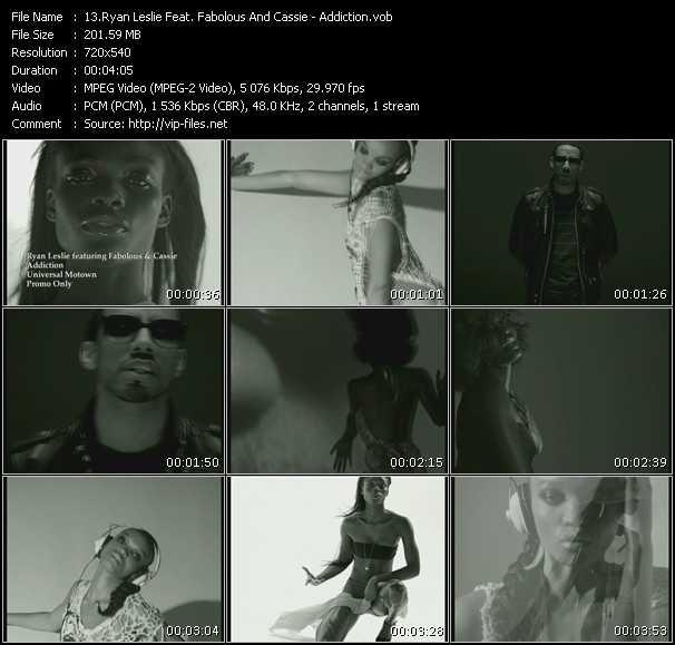Ryan Leslie Feat. Fabolous And Cassie - Addiction
