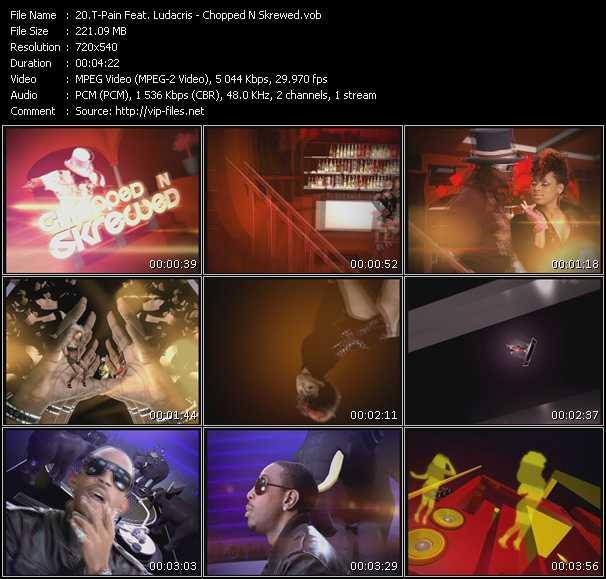 T-Pain Feat. Ludacris - Chopped N Skrewed