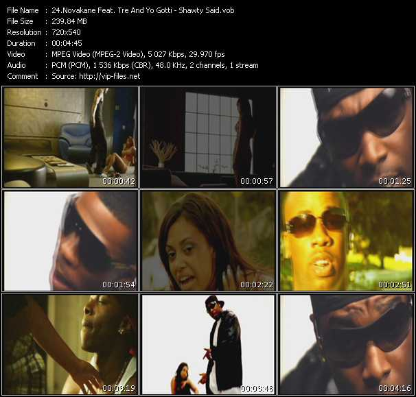 Novakane Feat. Tre And Yo Gotti - Shawty Said