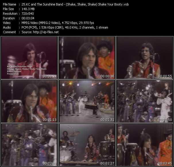 Kc And The Sunshine Band - (Shake, Shake, Shake) Shake Your Booty