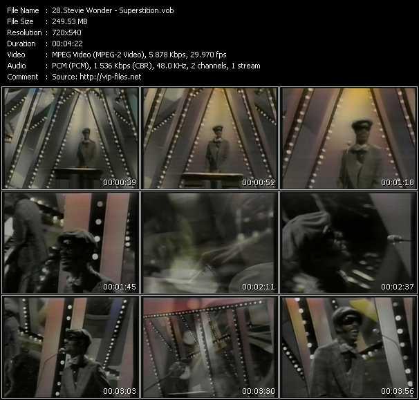 Stevie Wonder - Superstition