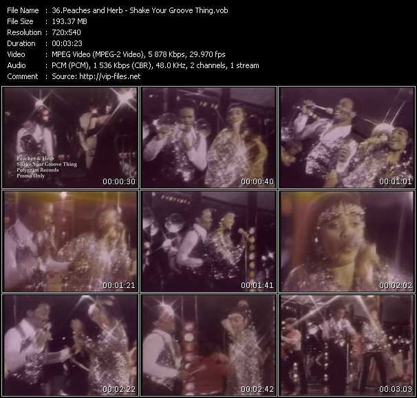 Peaches And Herb - Shake Your Groove Thing