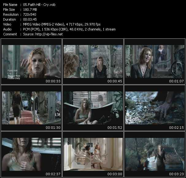 Faith Hill - Cry