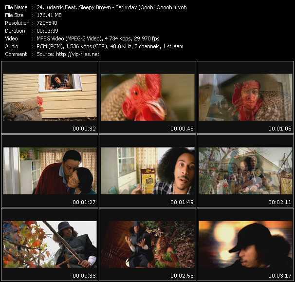 Ludacris Feat. Sleepy Brown - Saturday (Oooh! Ooooh!)