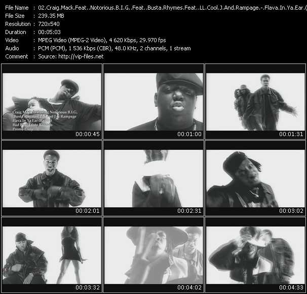 Craig Mack Feat. Notorious B.I.G. Feat. Busta Rhymes Feat. LL Cool J And Rampage - Flava In Ya Ear (Remix)