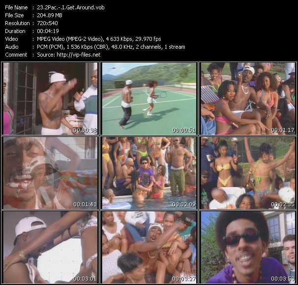2Pac (Tupac Shakur) - I Get Around