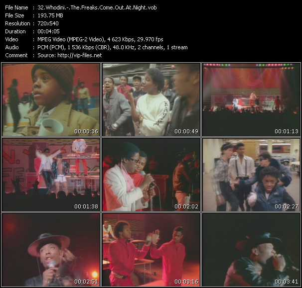 Whodini - The Freaks Come Out At Night