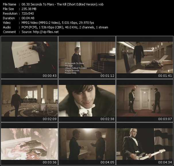 30 Seconds To Mars - The Kill (Short Edited Version)