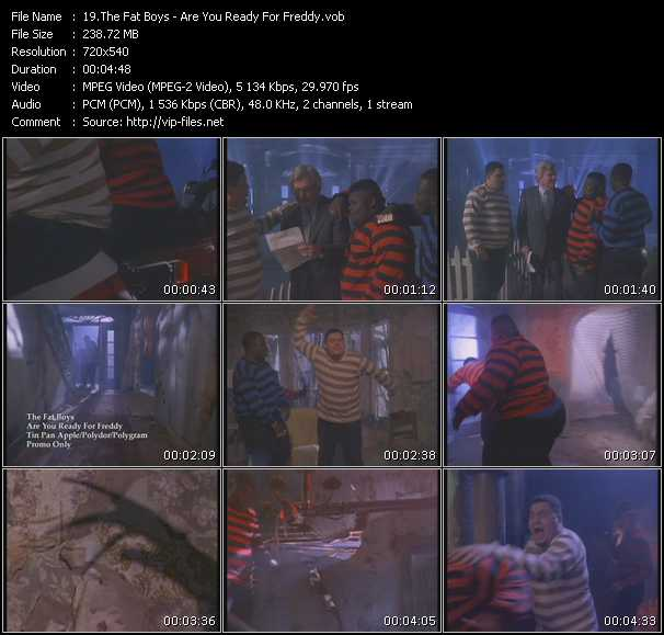 Fat Boys - Are You Ready For Freddy