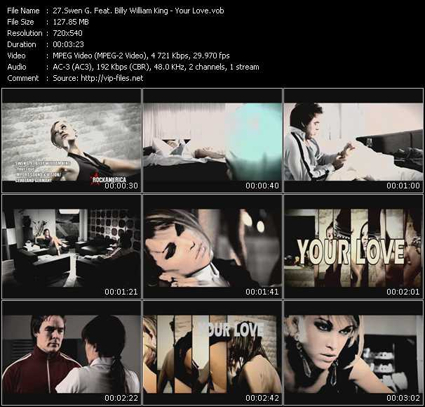 Swen G. Feat. Billy William King - Your Love