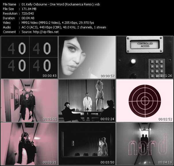 Kelly Osbourne - One Word (Rockamerica Remix)