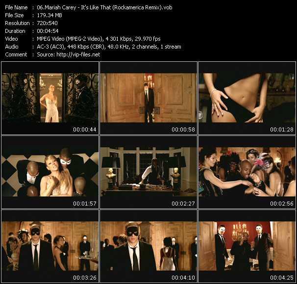 Mariah Carey - It's Like That (Rockamerica Remix)