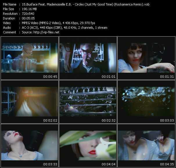 Busface Feat. Mademoiselle E.B. - Circles (Just My Good Time) (Rockamerica Remix)