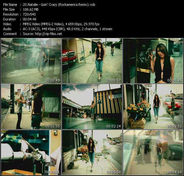 Natalie - Goin' Crazy (Rockamerica Remix)