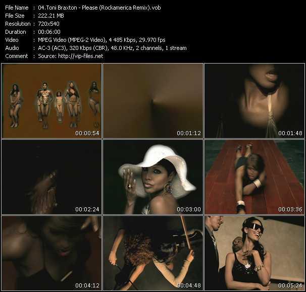 Toni Braxton - Please (Rockamerica Remix)