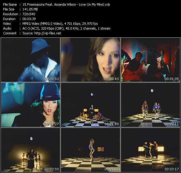 Freemasons Feat. Amanda Wilson - Love On My Mind