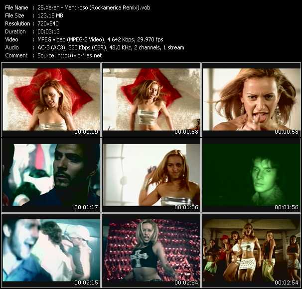 Xarah - Mentiroso (Rockamerica Remix)