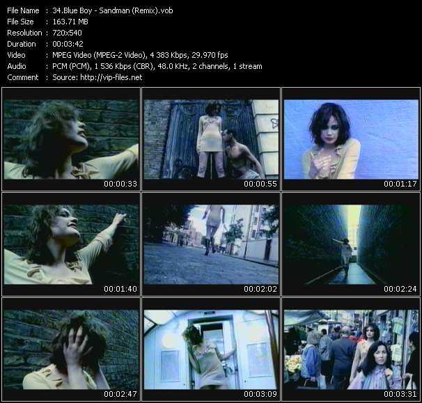 Blue Boy - Sandman (Remix)