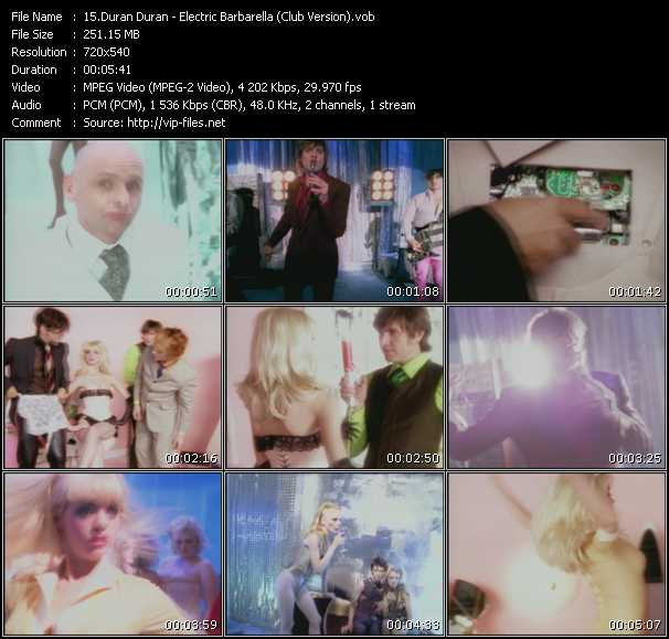 Duran Duran - Electric Barbarella (Club Version)