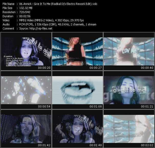 Annick - Give It To Me (Radikal Dj's Electro Rework Edit)