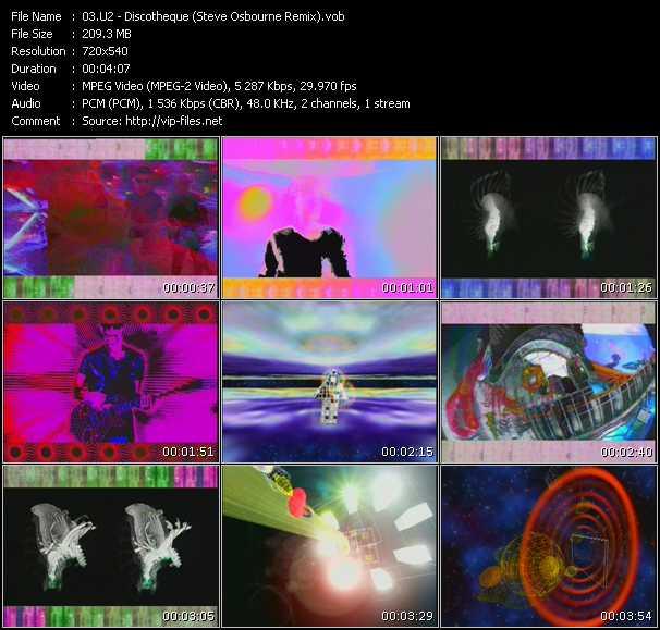 U2 - Discotheque (Steve Osbourne Remix)