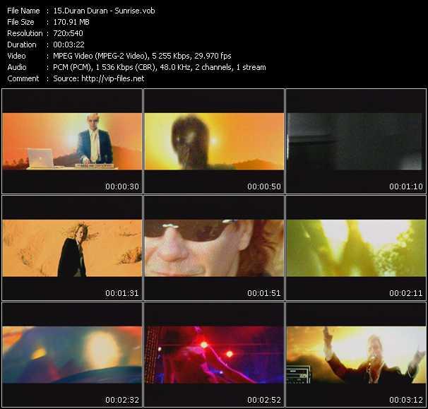 Duran Duran - Sunrise
