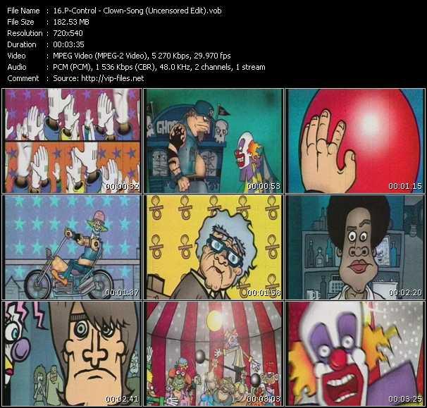 P-Control - Clown-Song (Uncensored Edit)