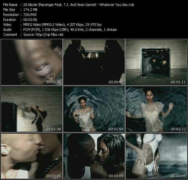 Nicole Scherzinger Feat. T.I. And Sean Garrett - Whatever You Like