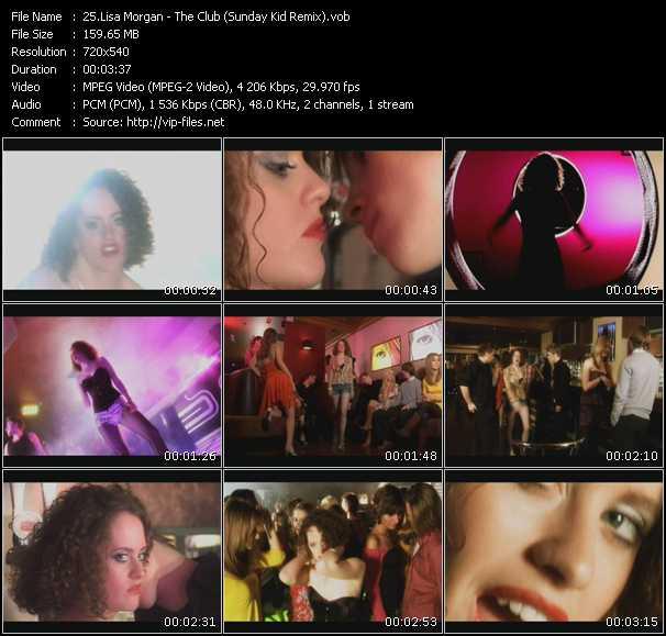 Lisa Morgan - The Club (Sunday Kid Remix)