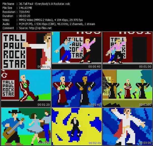 Tall Paul - Everybody's A Rockstar