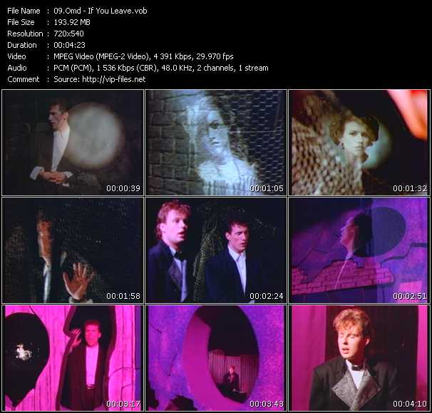 O.M.D. (Orchestral Manoeuvres In The Dark) - If You Leave