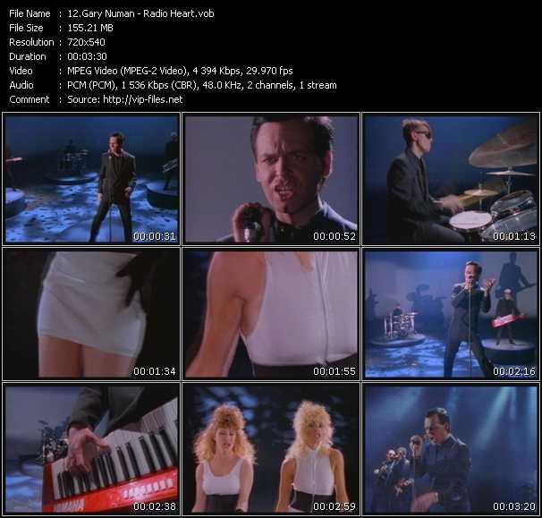 Gary Numan - Radio Heart