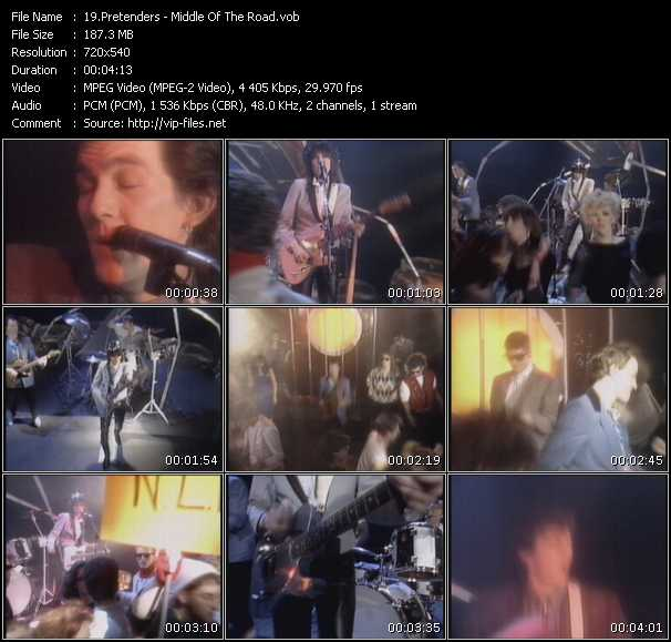 Pretenders - Middle Of The Road