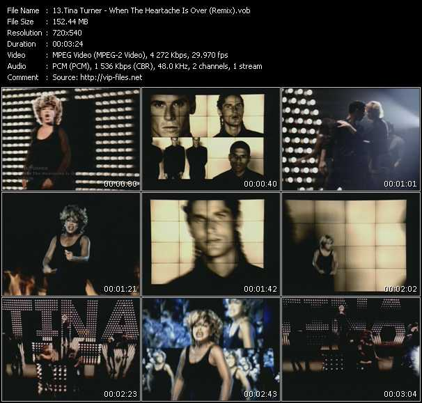 Tina Turner - When The Heartache Is Over (Remix)