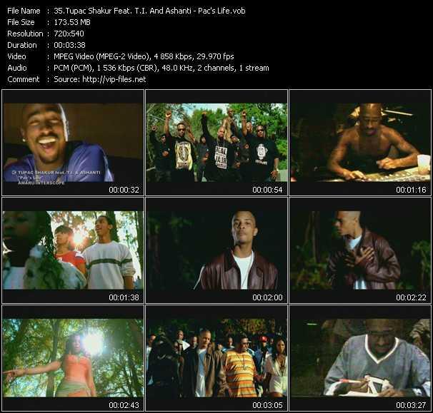 2Pac (Tupac Shakur) Feat. T.I. And Ashanti - Pac's Life