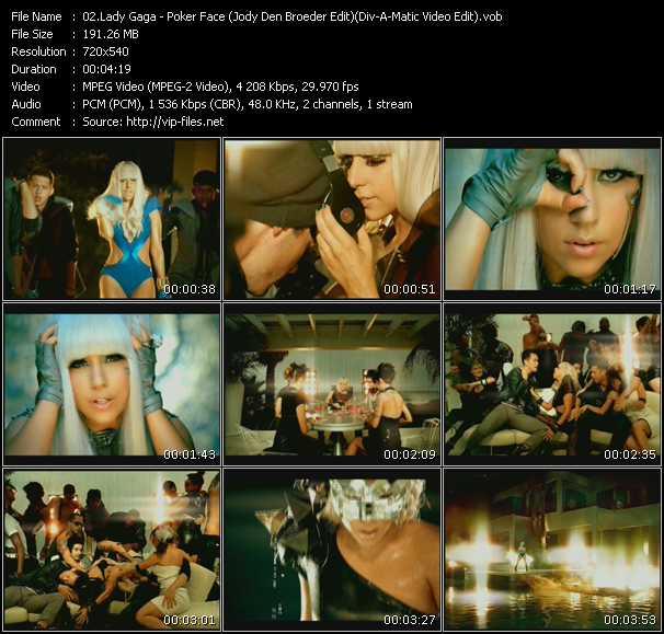 Lady Gaga - Poker Face (Jody Den Broeder Edit) (Div-A-Matic Video Edit)