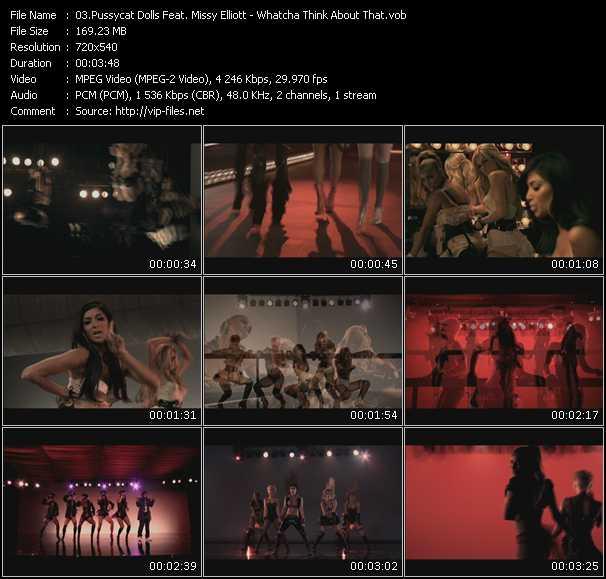 Pussycat Dolls Feat. Missy Elliott - Whatcha Think About That