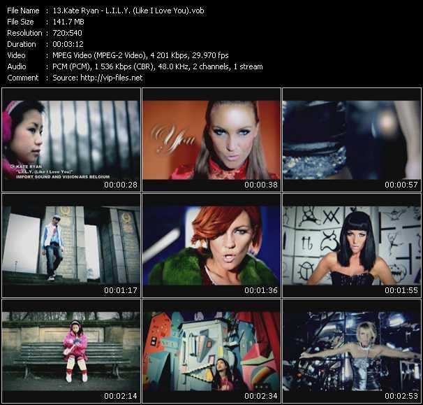 Kate Ryan - L.I.L.Y. (Like I Love You)