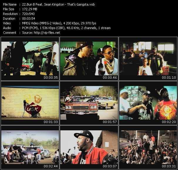 Bun B Feat. Sean Kingston - That's Gangsta