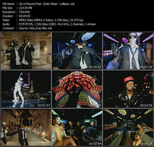 Lil' Wayne Feat. Static Major - Lollipop
