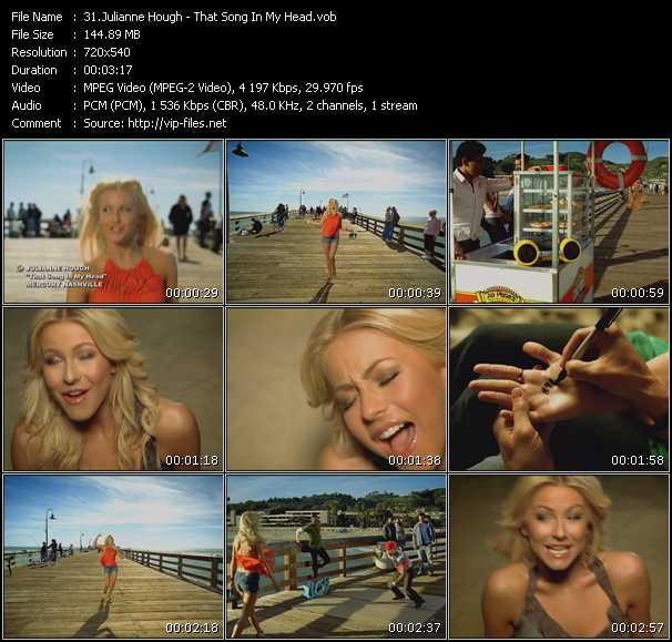 Julianne Hough - That Song In My Head