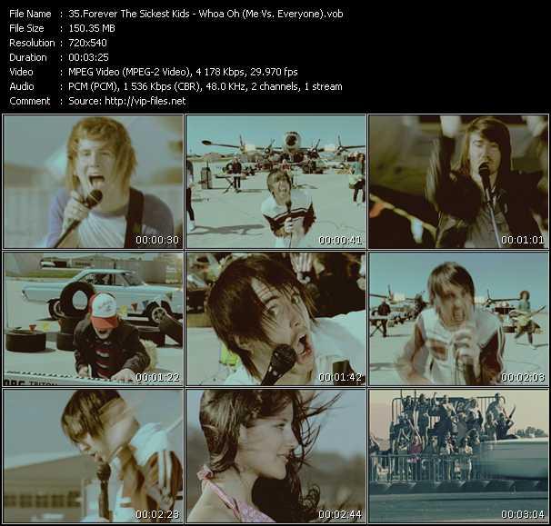 Forever The Sickest Kids - Whoa Oh (Me Vs. Everyone)