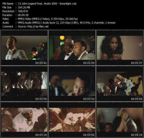 John Legend Feat. Andre 3000 - Greenlight
