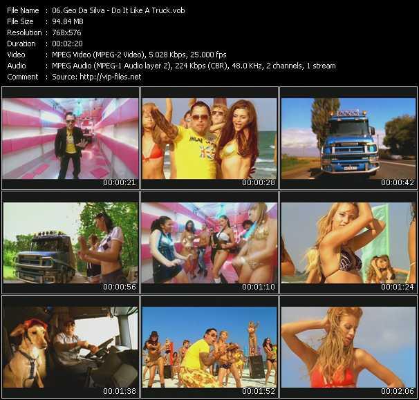 Geo Da Silva - Do It Like A Truck