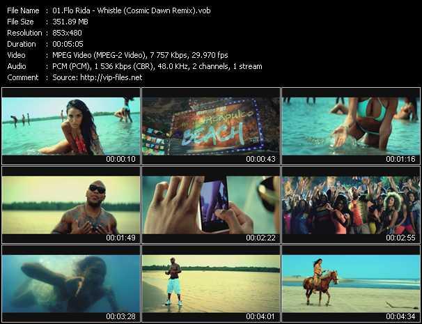 Flo Rida - Whistle (Cosmic Dawn Remix)