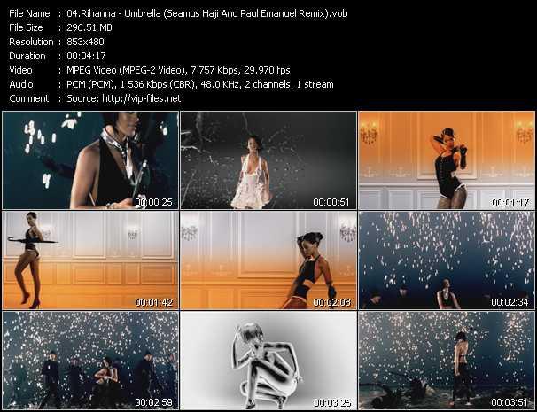 Rihanna - Umbrella (Seamus Haji And Paul Emanuel Remix)