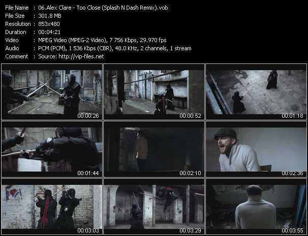 Alex Clare - Too Close (Splash N Dash Remix)